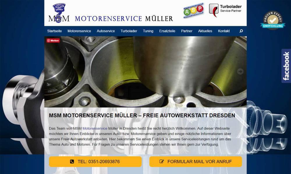 MSM Motorenservice Müller Dresden