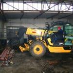 Alte Motorenwerkstatt wird umgebaut