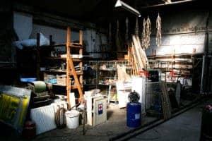 Alte Motorenwerkstatt wird restauriert